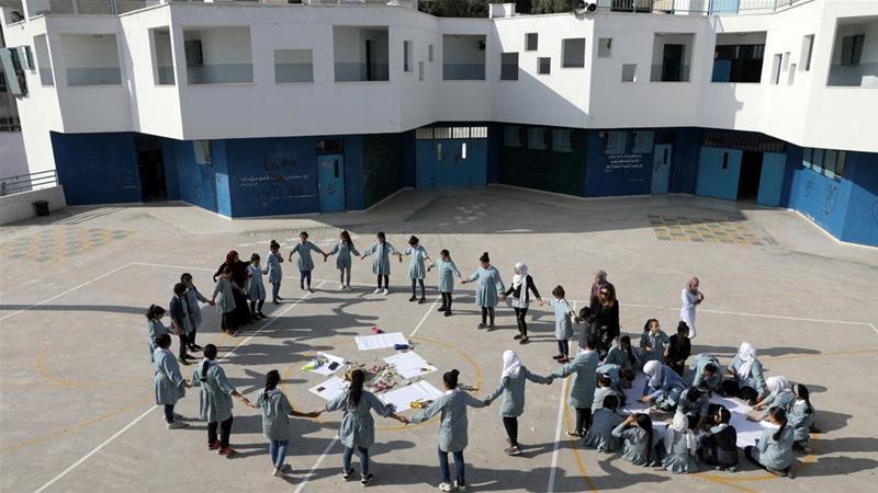 इज़राइल ने पूर्वी यरुशलम में UNRWA स्कूलों को बंद करने की योजना बनाई