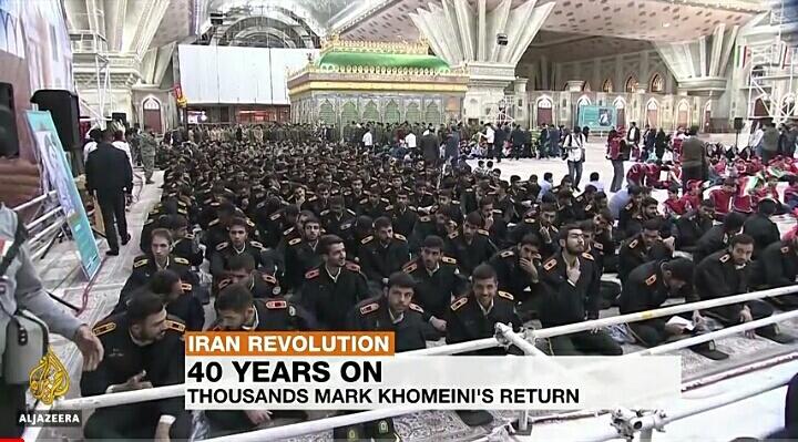 VIDEO: ईरान में मनाया जा रहा है इस्लामिक क्रांति की वर्षगांठ!