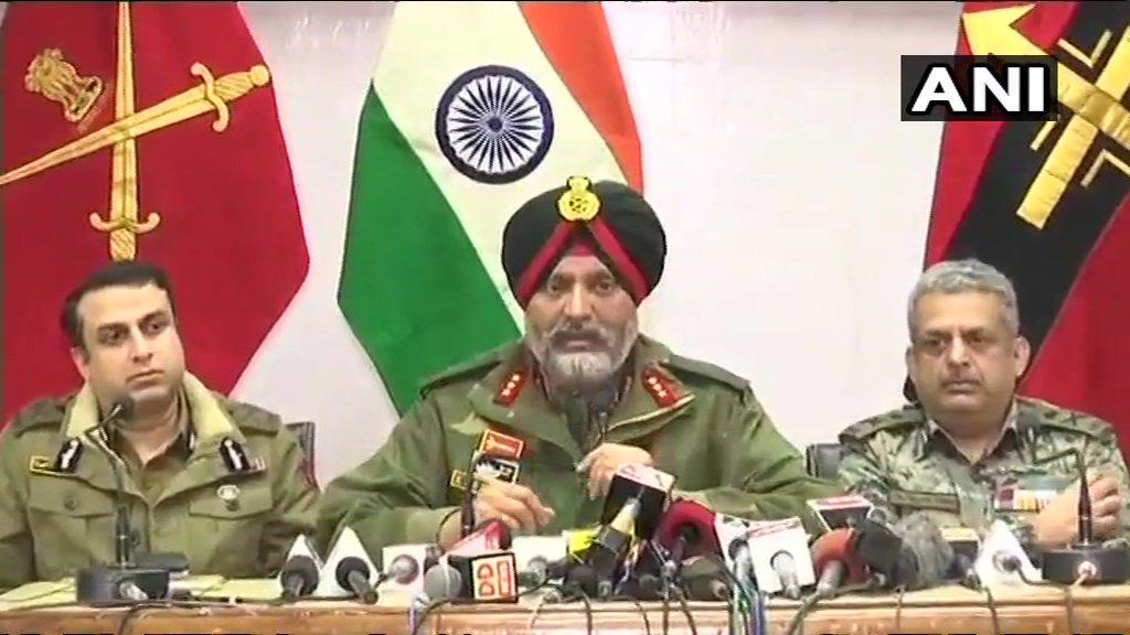 कश्मीर में आतंकीयों ने सरेंडर नहीं किया तो खत्म कर दिया जायेगा- सेना