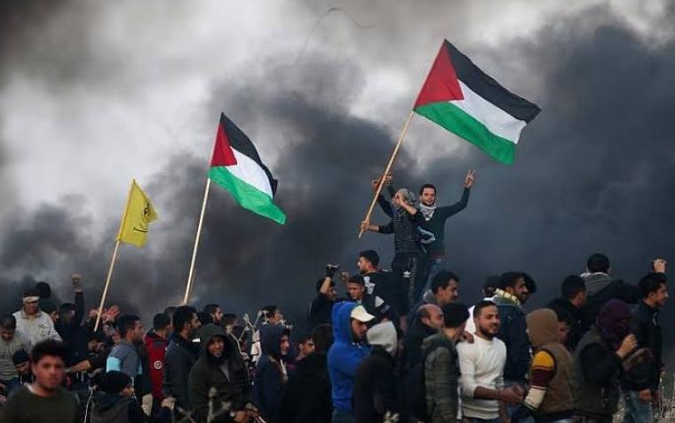 गाज़ा: फलस्तीनीयों पर इजरायली सैनिकों ने किया अंधाधुंध गोलीबारी!