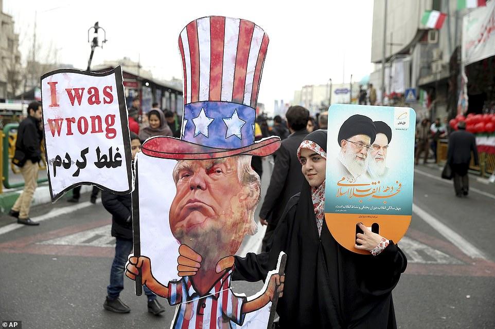 'अमेरिका ने हम पर एक भी गोली चलाने की हिम्मत कि, तो हम तेल अवीव और हाइफा को नष्ट कर देंगे'