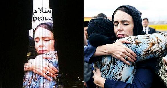बुर्ज खलीफा पर छा गईं न्यूजीलैंड की प्रधानमंत्री, सोशल मीडिया पर फोटो वायरल