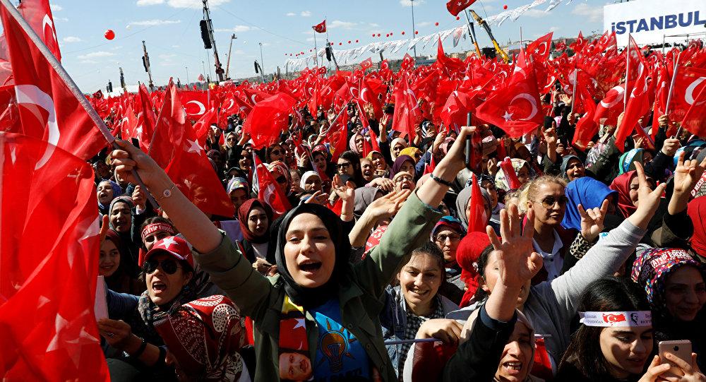 स्थानीय वोट की रैलियों में इस्तांबुल में 1.6 लाख लोग हुए शामिल, 31 मार्च को होना है चुनाव