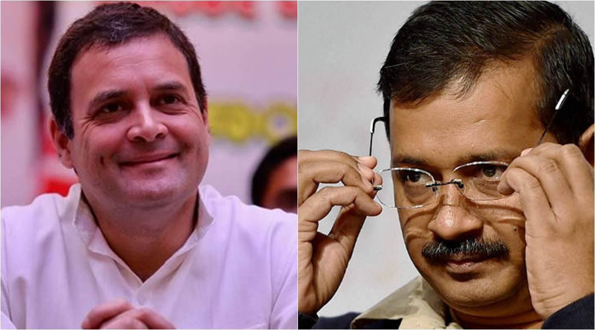 मनमुटाव शीर्ष पर : राहुल ने कहा केजरीवाल ने किया यू-टर्न, CM ने कहा कांग्रेस कर रहे हैं मोदी की मदद
