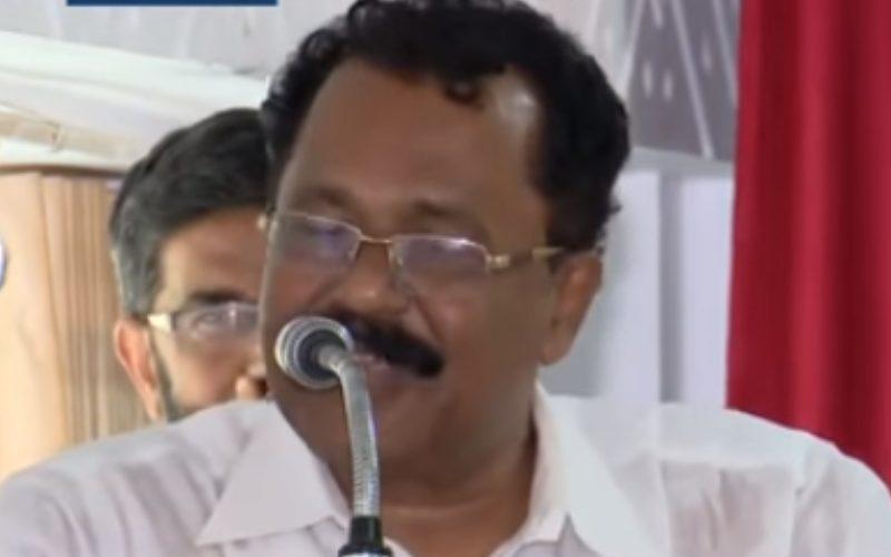VIDEO- केरल बीजेपी अध्यक्ष का मुस्लिमों को लेकर विवादित बयान,, कहा- 'उनके कपड़े खोलने'…..